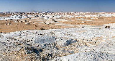 صورة أرض الثلوج محمية الصحراء البيضاء