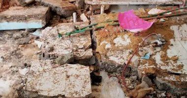 صورة انفجار سخان كهرباء فى وحدة سكنية بالعاشر من رمضان
