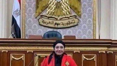 صورة النائبة دعاء عريبي تهنئ الرئيس السيسي و جموع المصريين بمناسبة عيد العمال
