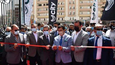 صورة وزير الرياضة ومحافظ الغربية يشهدان الإفتتاح الجزئي لنادي سيتي كلوب طنطا