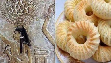 صورة خبير آثار يرصد كعك العيد من رسوم مقبرة تى ورخمى رع حتى الآن