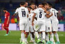 صورة فى المباراة الافتتاحية إيطاليا تفوز على تركيا بثلاثية نظيفة