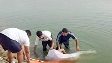 صورة انتشال جثة طفلة غرقت فى ترعة الباجورية بالغربية
