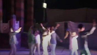 صورة ساحر الصحراء أول عرض مسرحي بقصر البرنس بنجع حمادي بقنا