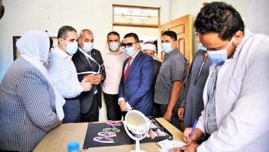 صورة محافظ الغربية يشهد انطلاق مبادرة عنيك في عنينا لمكافحة مسببات العمى ببلاي مركز السنطة