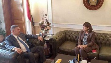 صورة وزير قطاع الأعمال العام يستقبل المنسق المقيم للأمم المتحدة في مصر
