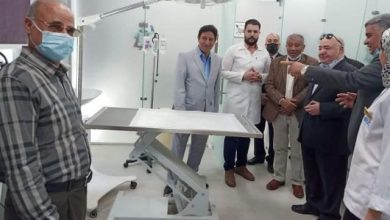 صورة لأول مرة الطب البيطرى بجامعة بدر تفتتح أكبر عيادات شاملة وفندقاً نموذجياً لعلاج الحيوانات الأليفة