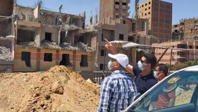صورة الدكتور سمير حماد نائب المحافظ يتفقد أعمال تطوير الطرق ويتابع إزالة العقارات المتعارضة مع توسعة الطريق الدائري بنطاق مدينة شبرا الخيمة