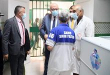 صورة وزير الصحة يزور المستشفى الجهوي بتوزر