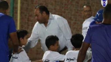 صورة منتخب السويس يفتتح الفرع الثانى لأكاديمية النادي بمركز شباب الجزيرة .