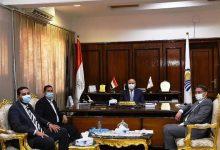 صورة محافظ قنا يستقبل مدير عام القوى العاملة الجديد
