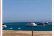 صورة غلق ميناء الغردقة لسوء الأحوال الجوية