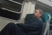 """صورة القبض على مرتكب الفعل الفاضح داخل قطار """"الجيزة – أسوان"""